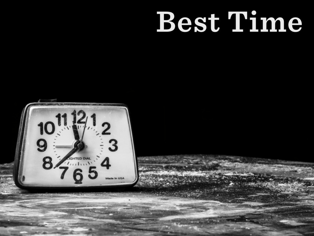 Best Time