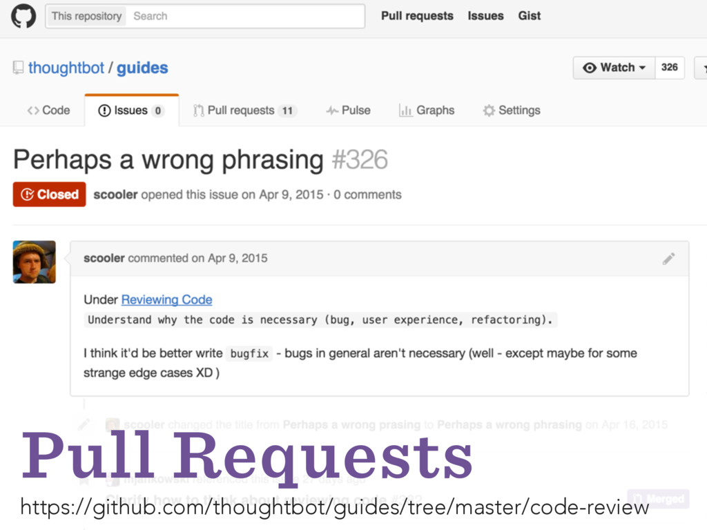 Pull Requests https://github.com/thoughtbot/gui...