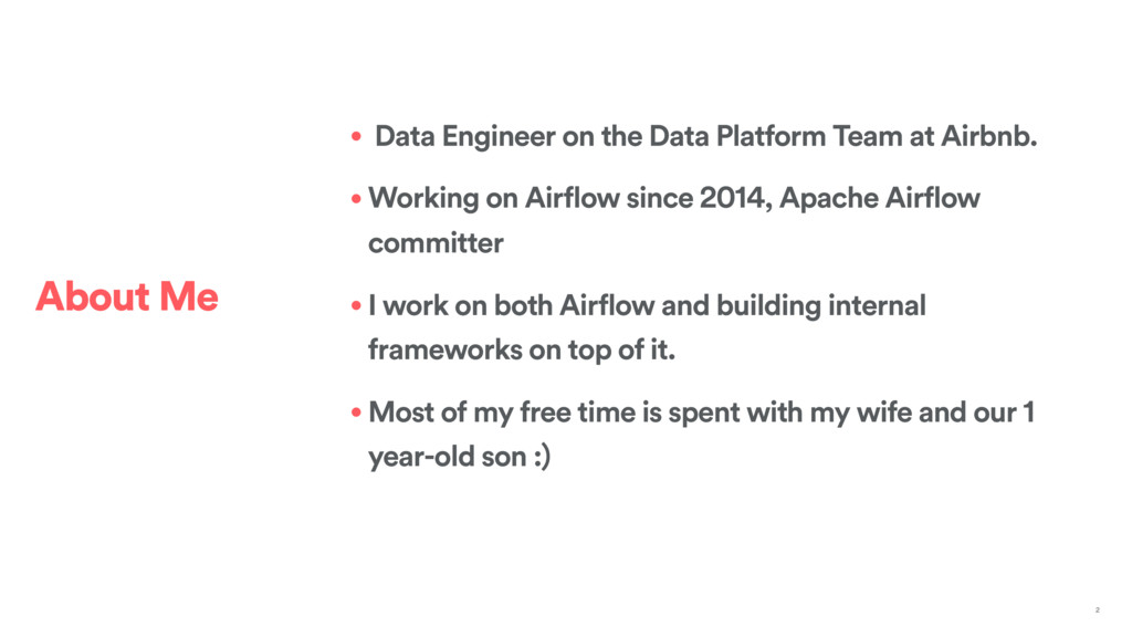• Data Engineer on the Data Platform Team at Ai...