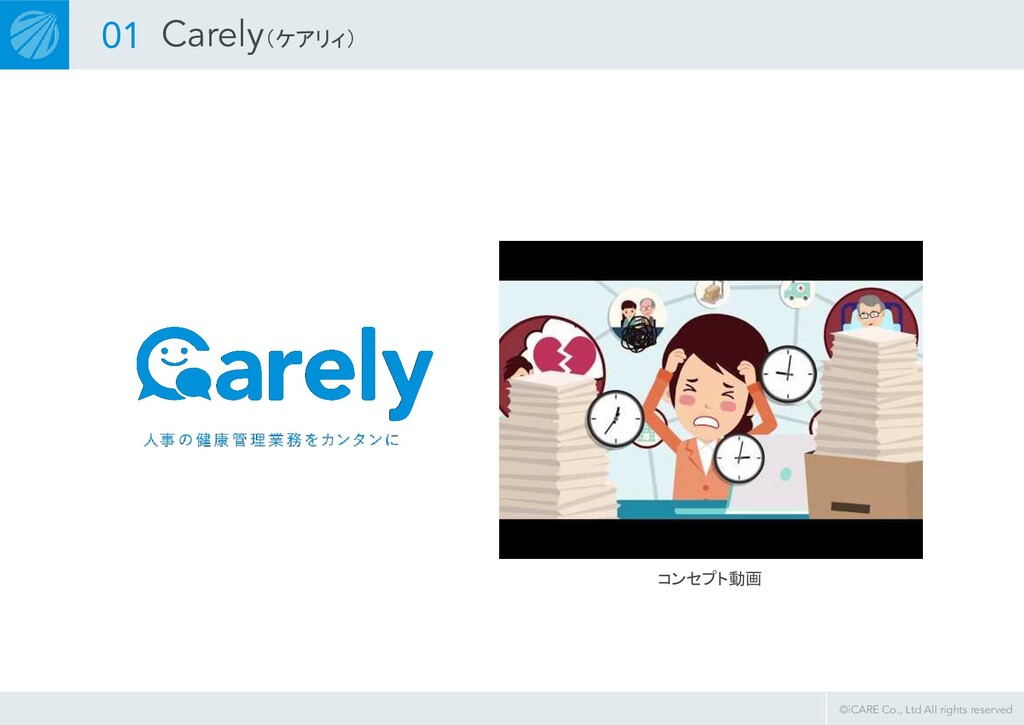 ©iCARE Co., Ltd All rights reserved コンセプト動画 01 ...