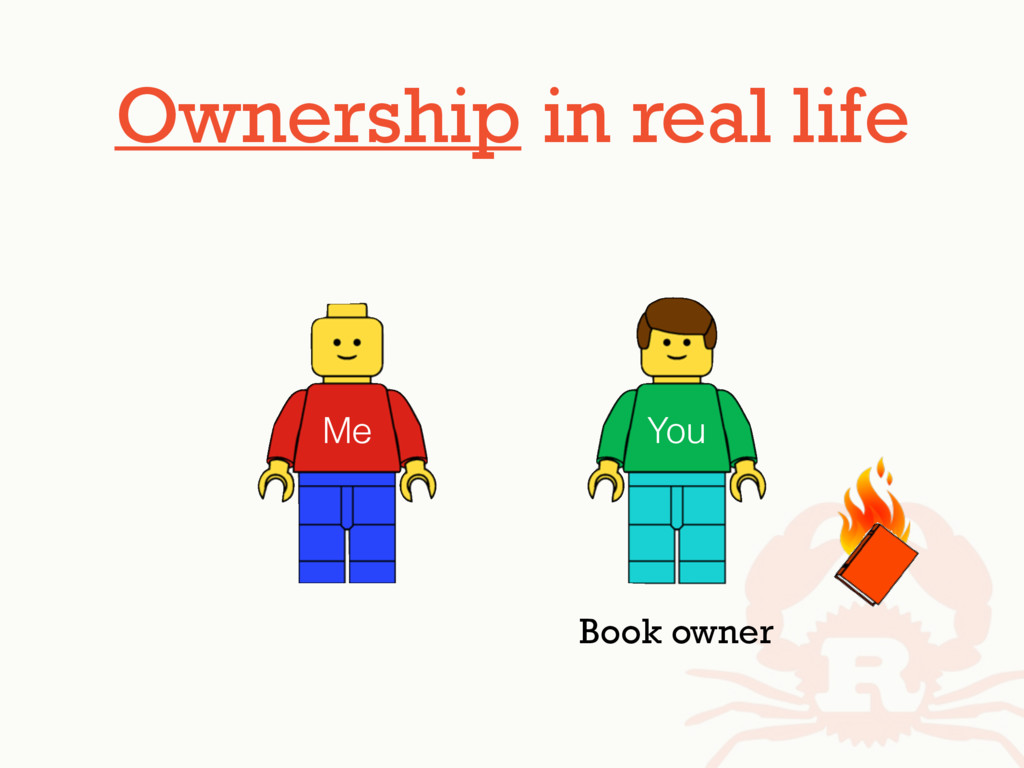 Ownership in real life Me You Book owner