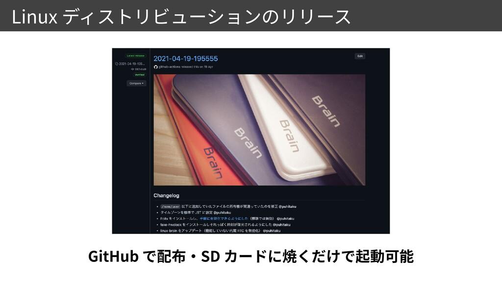 Linux GitHub SD