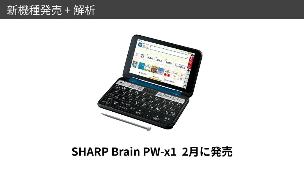 + SHARP Brain PW-x 1 2
