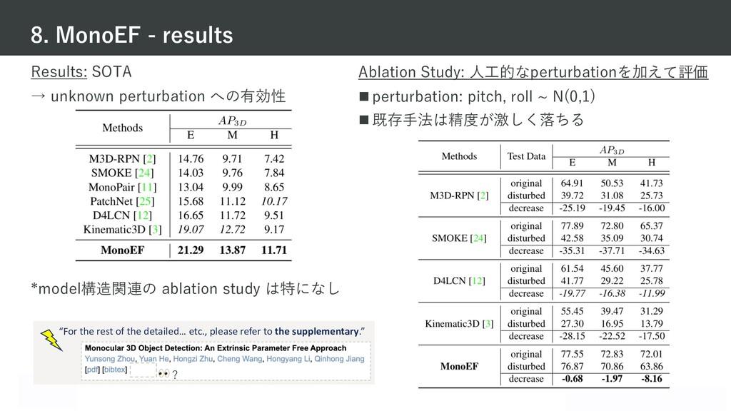 Mobility Technologies Co., Ltd. Results: SOTA →...