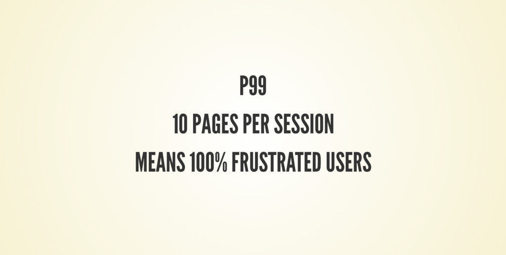 P99 10 PAGES PER SESSION MEANS 100% FRUSTRATED ...