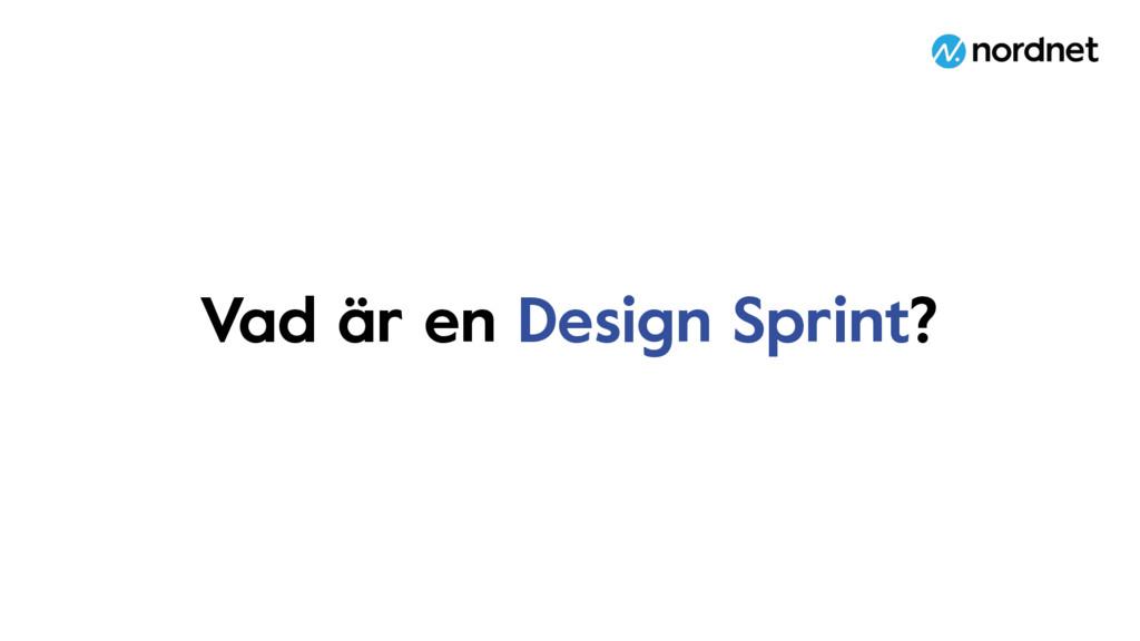Vad är en Design Sprint?
