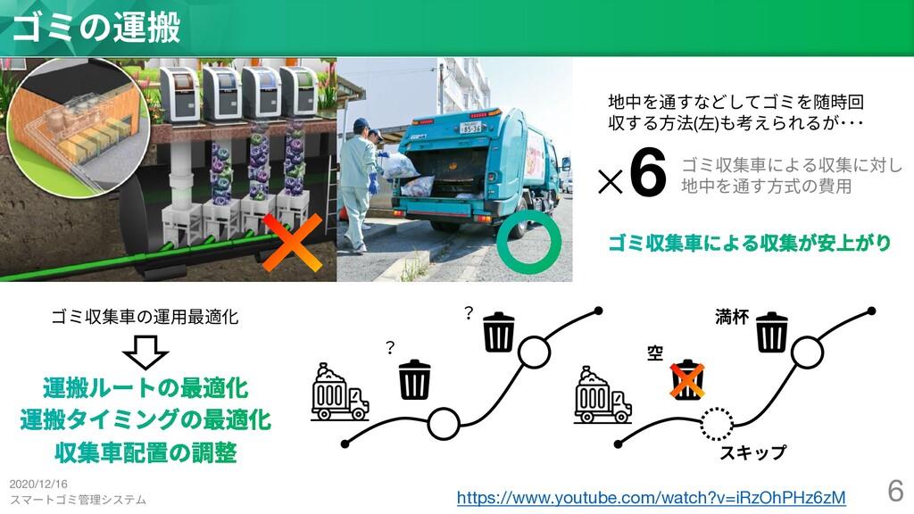 スマートゴミ管理システム 6 ゴミの運搬 https://www.youtube.com/wa...