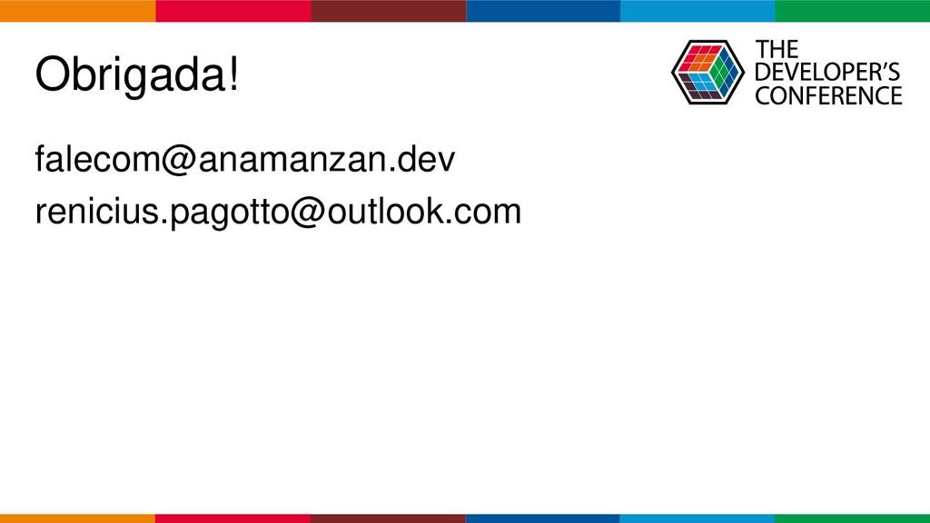 Globalcode – Open4education Obrigada! falecom@a...