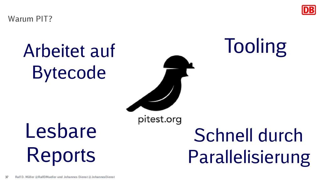 Ralf D. Müller @RalfDMueller und Johannes Diens...