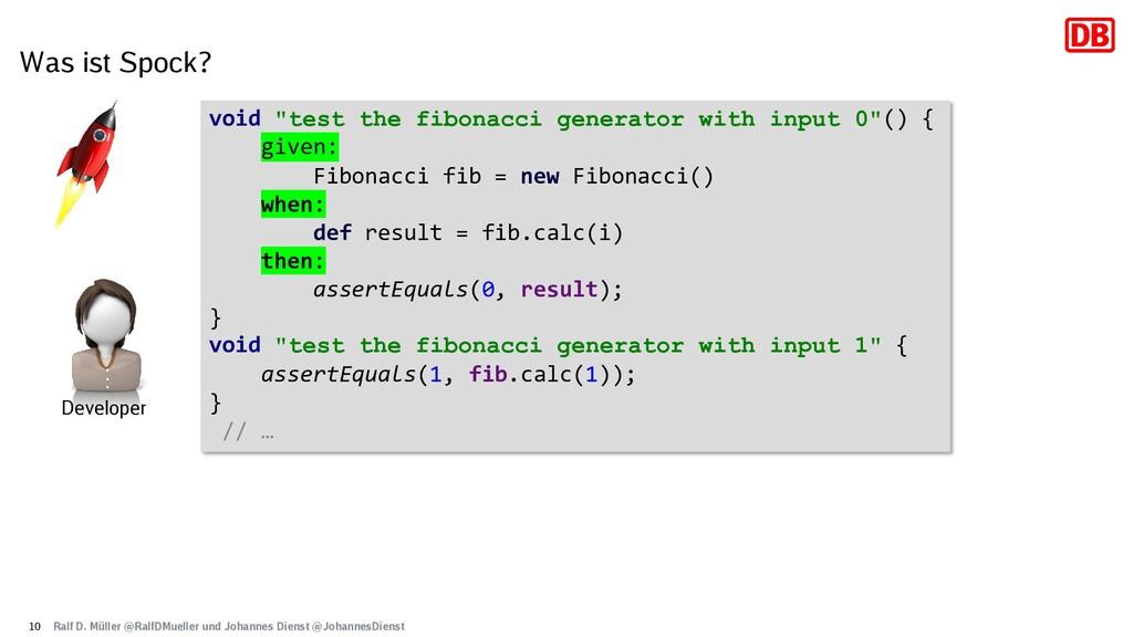 "Was ist Spock? 10 void ""test the fibonacci gene..."