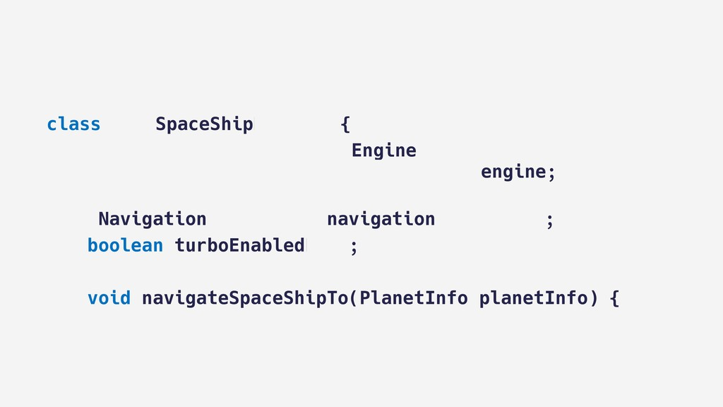 class MainSpaceShipManager { AbstractRocketProp...