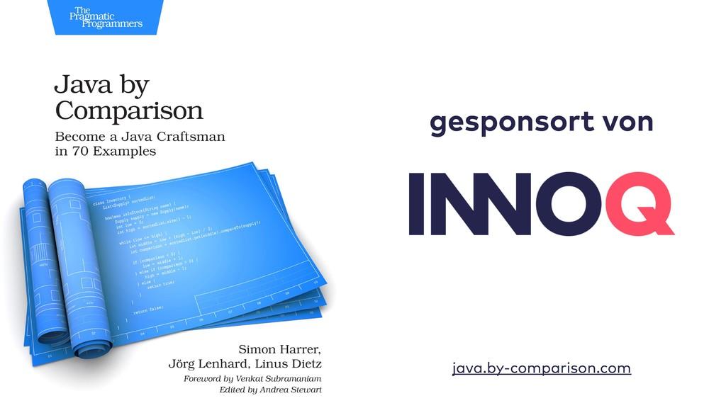gesponsort von java.by-comparison.com