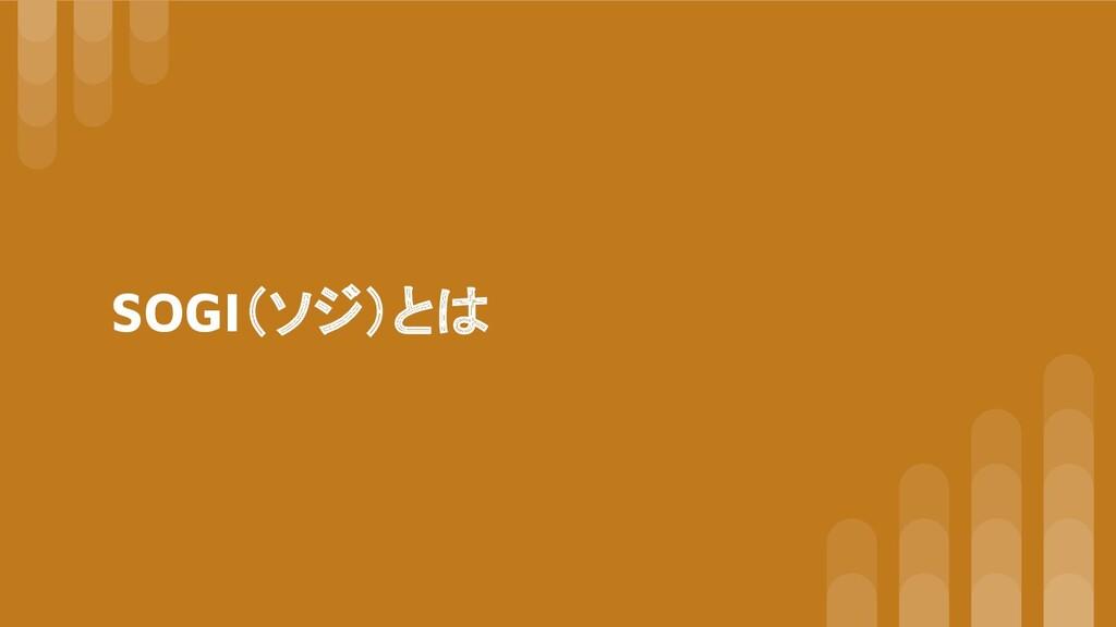 SOGI(ソジ)とは