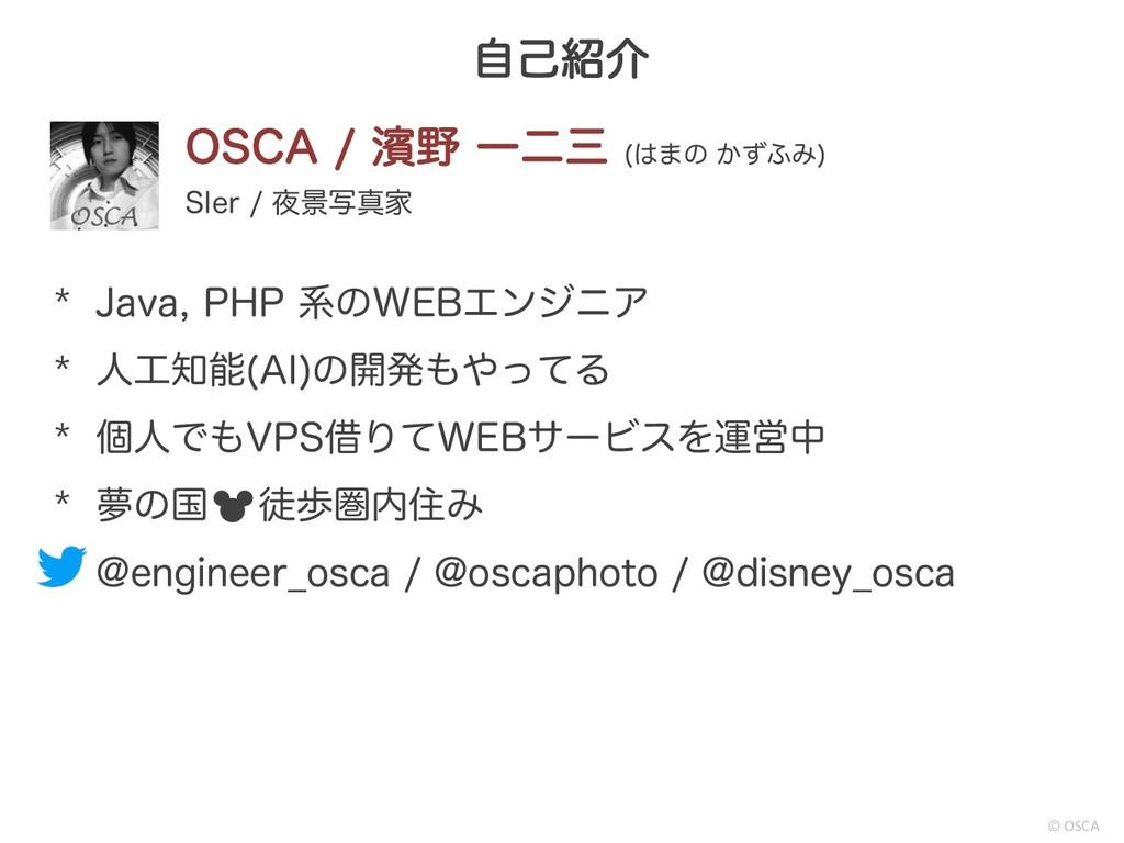 "ࣗݾհ © OSCA 04$""ᖛ Ұೋ ·ͷ ͔ͣ;Έ  4*FS ܠࣸਅ..."