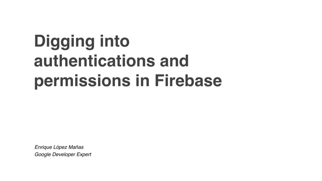 Digging into authentications and permissions in...