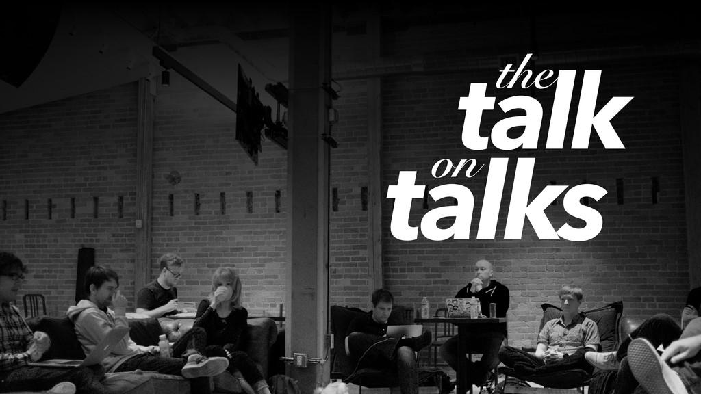 talk the on talks
