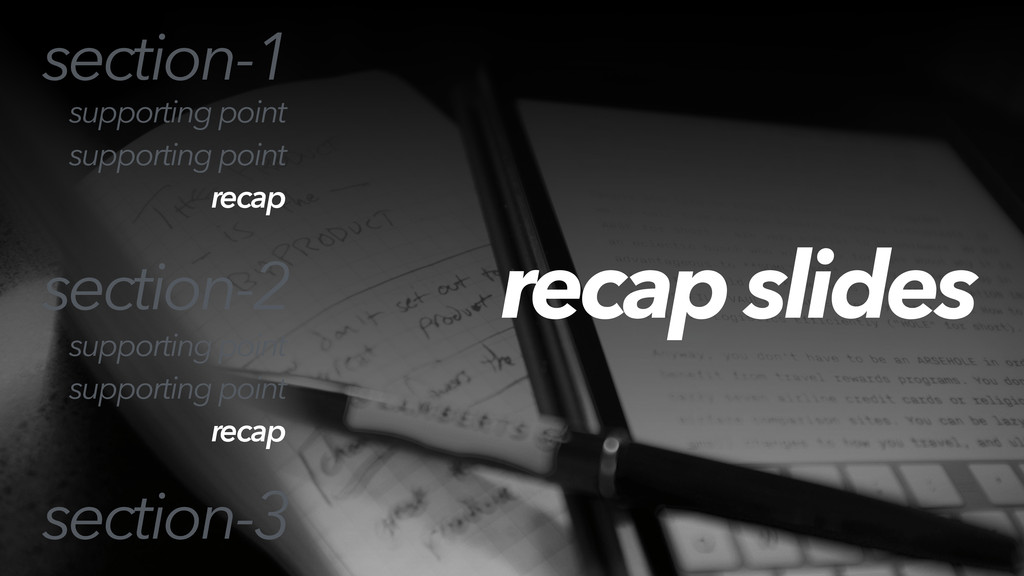 recap slides section-1 section-2 section-3 supp...