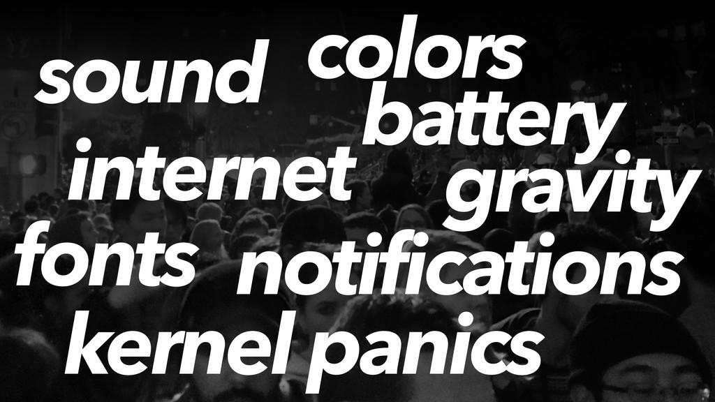 sound battery kernel panics internet gravity fo...