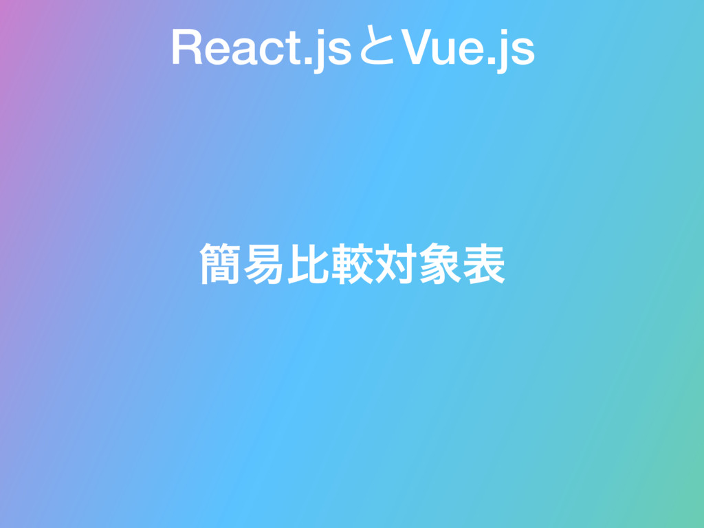 React.jsͱVue.js ؆қൺֱରද