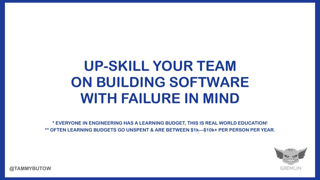 UP-SKILL YOUR TEAM ON BUILDING SOFTWARE WITH FA...