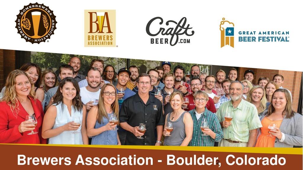 Brewers Association - Boulder, Colorado 2