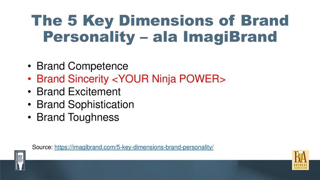The 5 Key Dimensions of Brand Personality – ala...