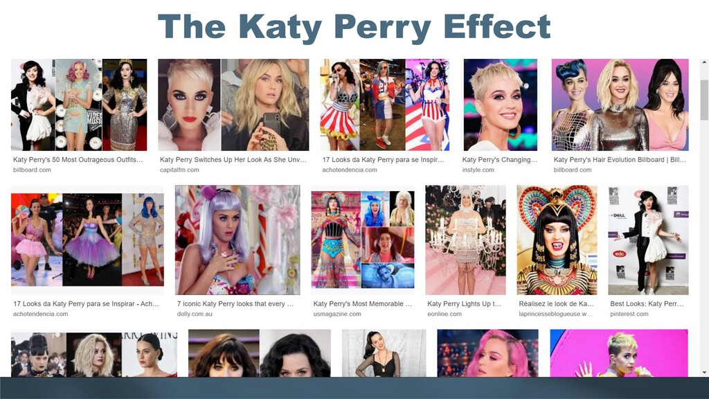 The Katy Perry Effect
