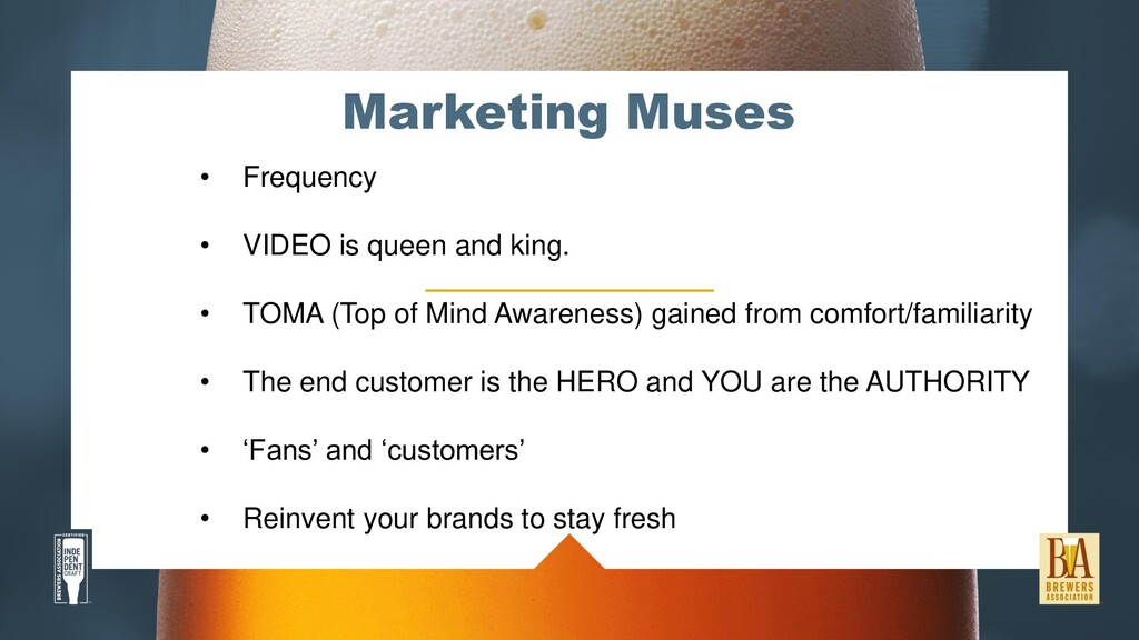 Marketing Muses • Frequency • VIDEO is queen an...