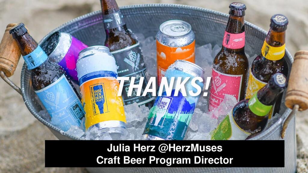 Julia Herz @HerzMuses Craft Beer Program Direct...