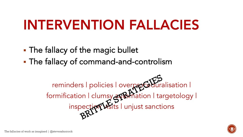 INTERVENTION FALLACIES § The fallacy of the mag...