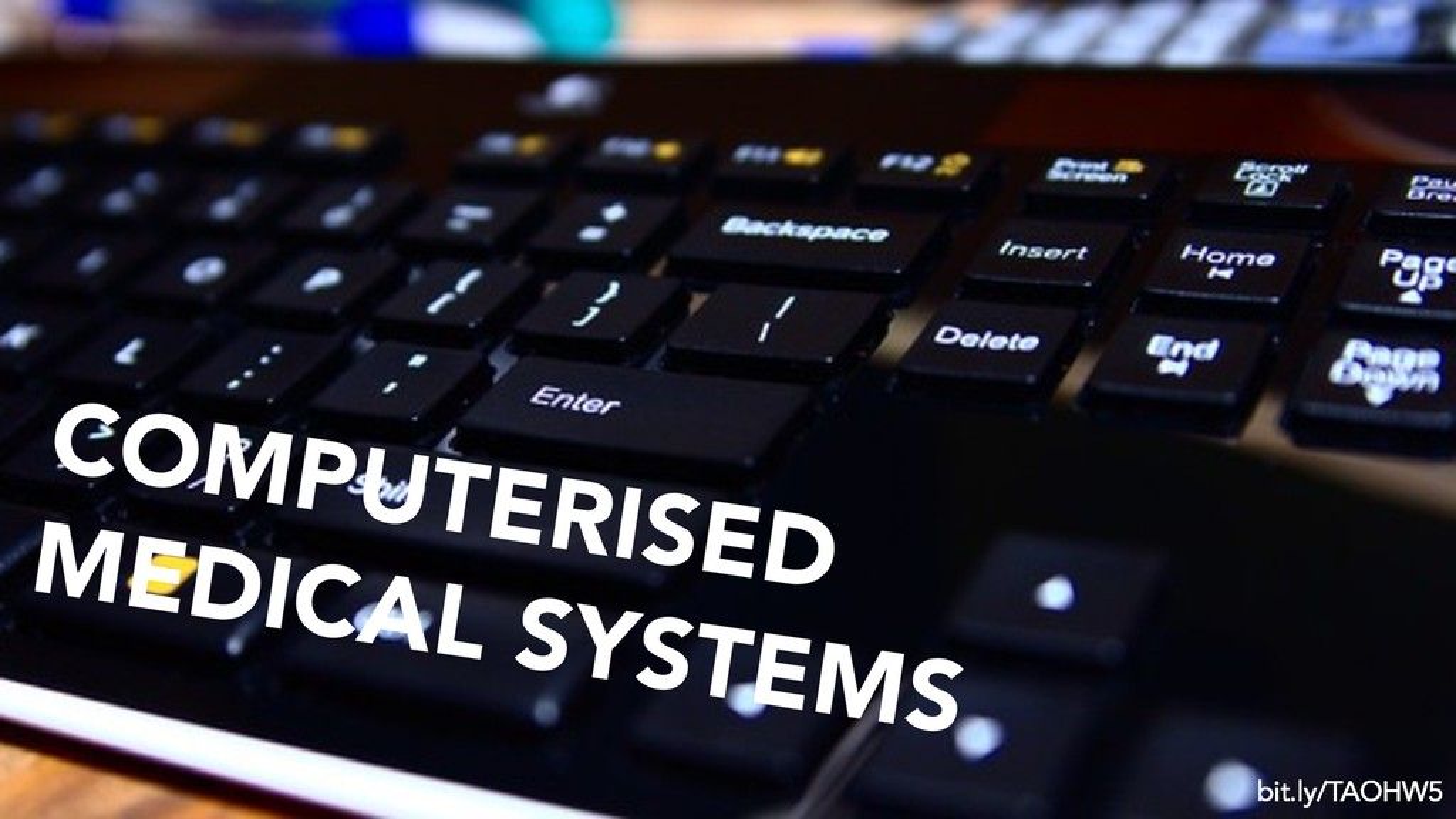enter your presentation title COMPUTERISED MEDI...