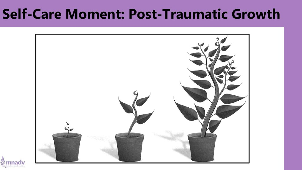 Self-Care Moment: Post-Traumatic Growth