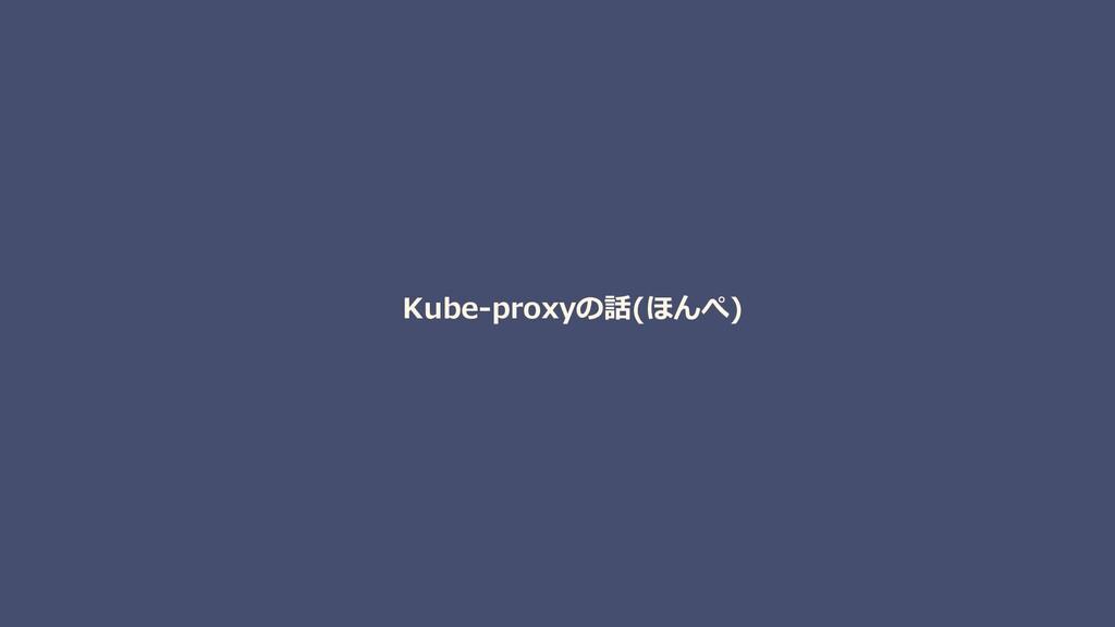 Kube-proxyの話(ほんぺ)