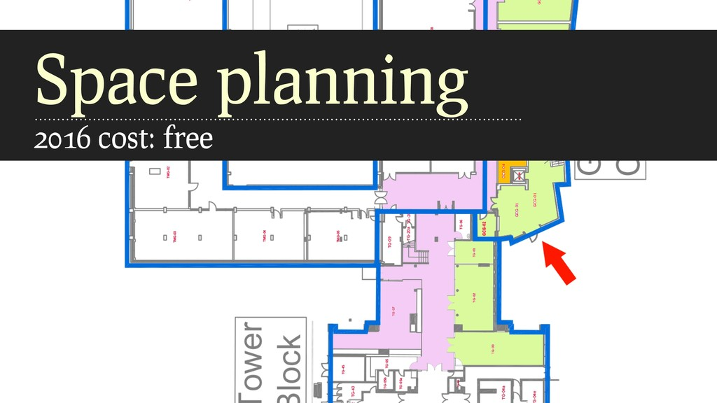 Space planning 2016 cost: free