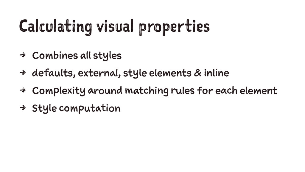Calculating visual properties 4 Combines all st...