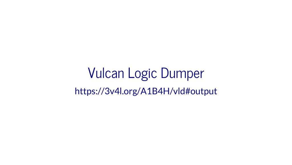 Vulcan Logic Dumper https://3v4l.org/A1B4H/vld#...