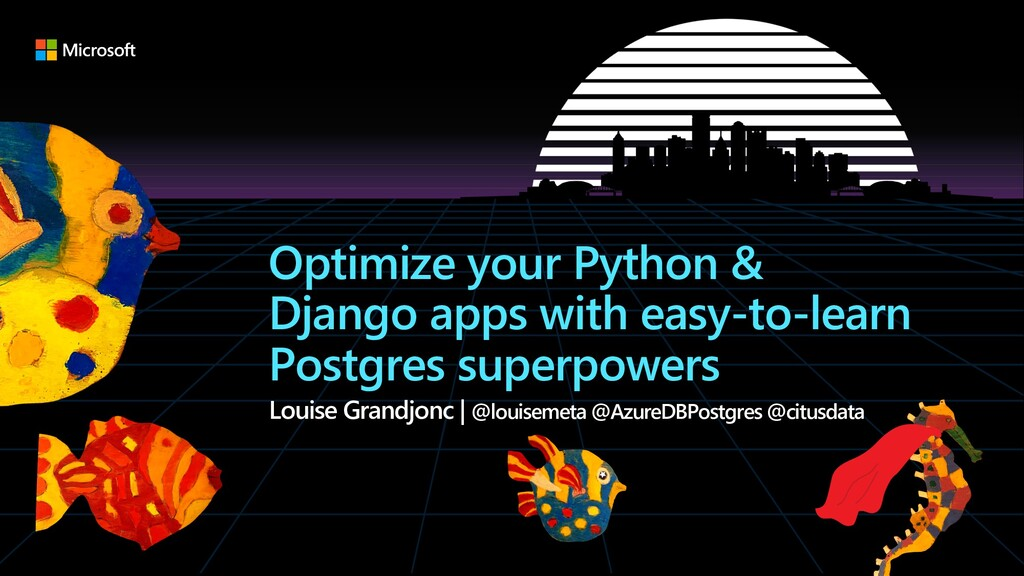 Optimize your Python & Django apps with easy-to...
