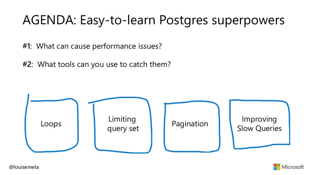 AGENDA: Easy-to-learn Postgres superpowers #1: ...