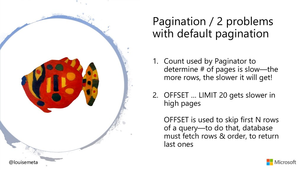 Pagination / 2 problems with default pagination...