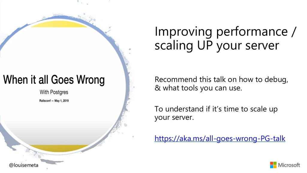 Improving performance / scaling UP your server ...