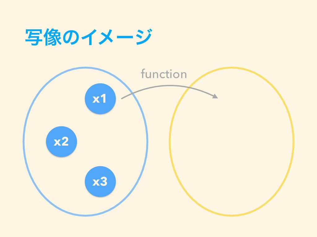 ࣸ૾ͷΠϝʔδ x1 x2 x3 function