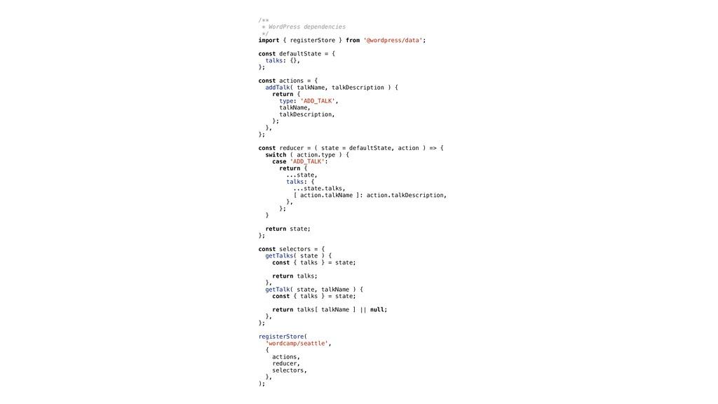 /** * WordPress dependencies */ import { regist...