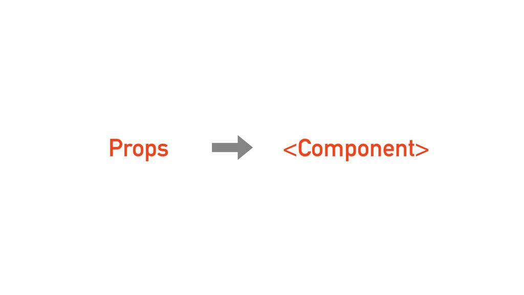 Props <Component>