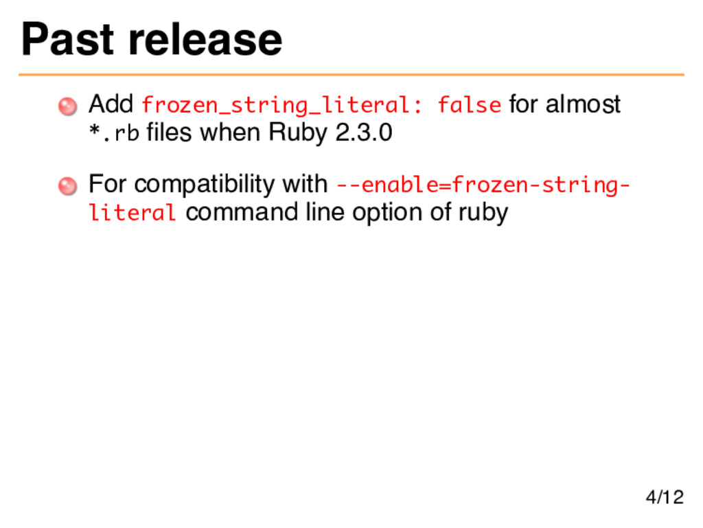 Past release Add frozen_string_literal: false f...
