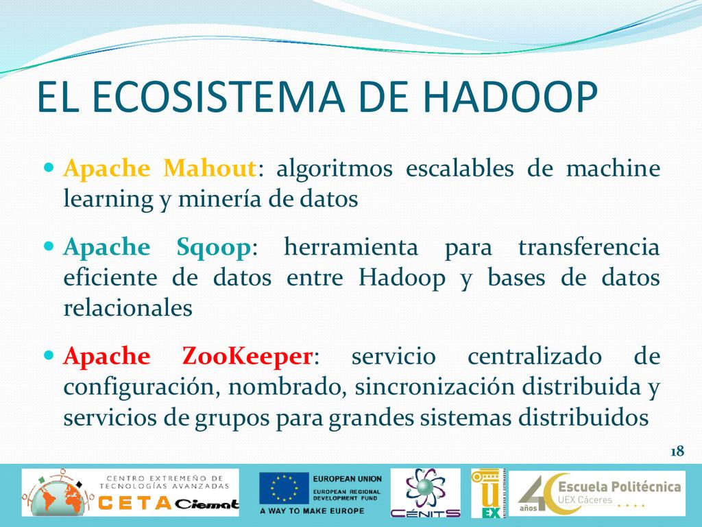  Apache Mahout: algoritmos escalables de machi...