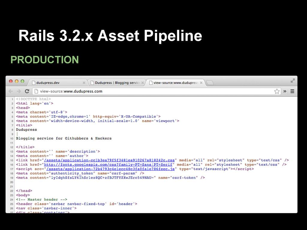 Rails 3.2.x Asset Pipeline PRODUCTION