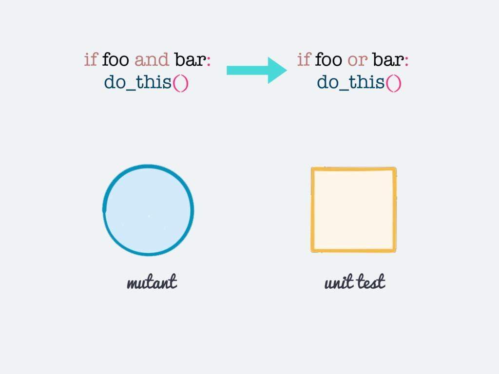 if foo and bar: do_this() if foo or bar: do_thi...