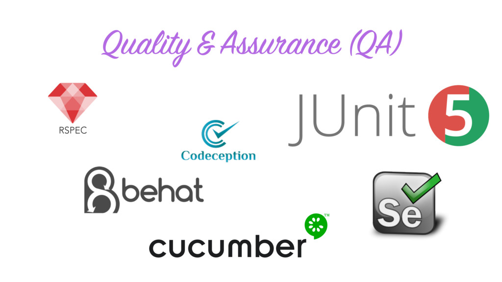 Quality & Assurance (QA)