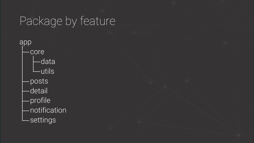 Package by feature app core data utils posts de...