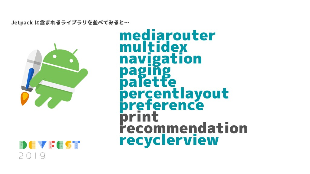 mediarouter multidex navigation paging palette ...
